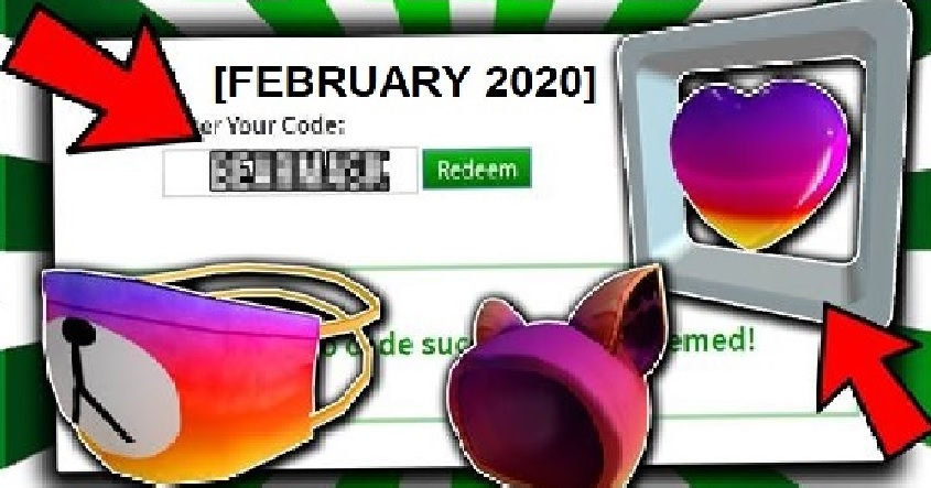 new roblox promo codes 2020 february